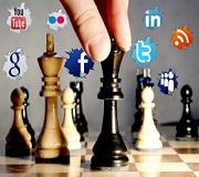 Loscuatro componentes de la estrategia de utilización de los medios sociales