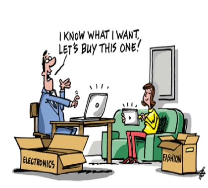 Los 6 tipos de consumidores online