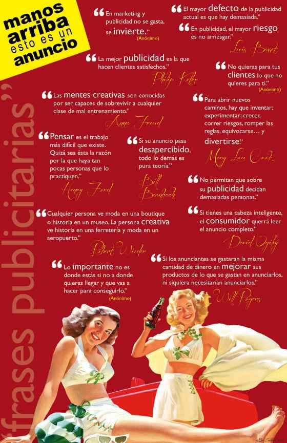 Frases Sobre Publicidad Infografia Infographic Citas